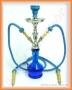 Vodní dýmka Aladin 22/2 26 modrá 2008 (2 šlauchy)