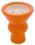 Korunka pro vodní dýmky Aladin 03 oranžová (vypouklá)