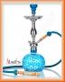 Vodní dýmka Aladin Evolution KOUFY 56cm tyrkysová