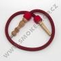 Hadice (šlauch) pro malé vodní dýmky - Top Mark (červená)
