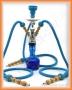 Vodní dýmka Aladin 20/3 66 modrá (3 šlauchy)
