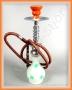 Vodní dýmka Shisha (Cannabis - bílá) 43cm