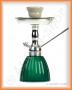 Vodní dýmka KING Gooza Silver (zelená smaragd)