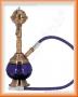 Vodní dýmka Měděnka 18cm (modrá)