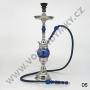 Egyptská vodní dýmka Top Mark 22/1 modrá (otočná+plast)