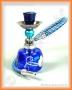 Vodní dýmka - Mini 15cm (modrá)