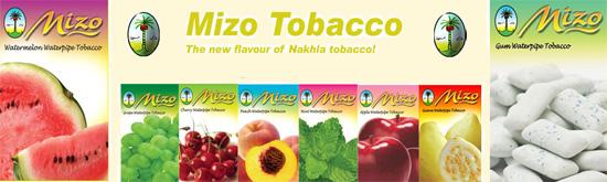 Tabáky do vodní dýmky Nakhla Mizo