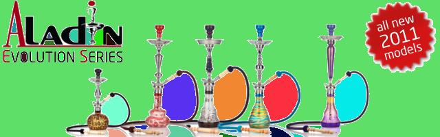 Vodní dýmky Aladin Evolution